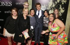 Hangs with The Claf at The Quiet Ones L.A. Premiere http://www.welcometodistrict12.com/2014/04/hangs-with-sam-claflin-at-quiet-ones-la.html