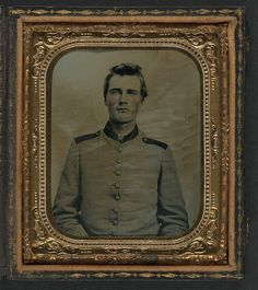 [Unidentified soldier in Confederate uniform] (LOC) by The Library of Congress, via Flickr