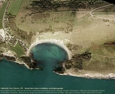 Lulworth Cove, Dorset, courtesy of the Channel Coastal Observatory, National Oceanography Centre, Southampton University