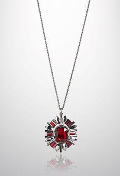 Starburst Pendant Necklace Shop plus size jewelry at avenue.com #avenueplus