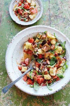 Panzanella (Tomaten-Brot-Salat)