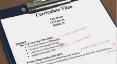 To lie or not to lie in resume - Make CV at cvtemplater.com