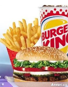 Burger King Whopper and Fries