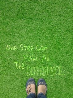 One step make all the difference