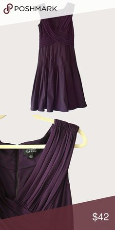 Adrianna Papell Purple Dress Adrianna Papell | size 14 | zipper closure on back | short sleeves | all pictures taken by me product shown as is Adrianna Papell Dresses