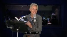 Ellen Does a Reading of '50 Shades of Grey', via YouTube. Ha ha ha ha ha!