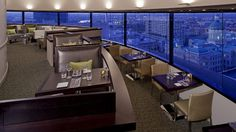 It doesn't get much better than wining and dining with a panoramic, rooftop view. Throw in filet mignon and we're swooning. indianapolis.hyatt.com