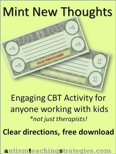 ... | Cognitive Behavioral Therapy, Cognitive Distortions and Worksheets