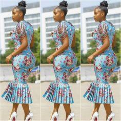 Très Belle Ankara Styles To Rock This Season - AfroCosmopolitan African Fashion Ankara, Latest African Fashion Dresses, African Dresses For Women, African Print Dresses, African Print Fashion, Africa Fashion, African Attire, African Wear, Ghanaian Fashion