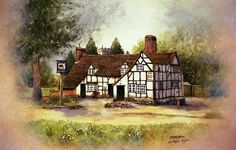 The Old Bull Inkberrow.Worcestershire by christopher Hughes  ~  x