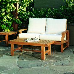 Kingsley-Bate: Elegant Outdoor Furniture. Nantucket settee