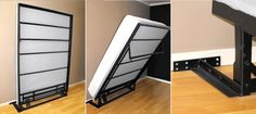A great economical solution for a Murphy Bed. Perfect for closets with bi-fold doors.