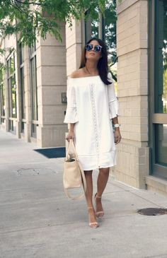 white off the shoulder – the haute cookie
