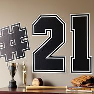 Like idea of using jersey numbers for basketball, lacrosse, etc.