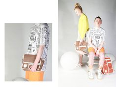 Lookbook for GoodOrdering launching within Urban Outfitters. Page 5&6