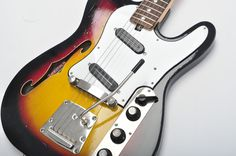 JOLANA IRIS 80s shortscale tele USSR SOVIET Russian Electric Guitar VINTAGE RARE