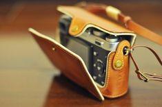 Cow leather case for Fujifilm X100T X100S / Fujifilm por nelisgood
