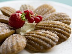 Orange Blossom Madeleines recipe