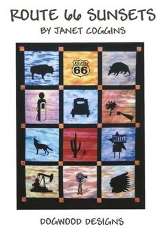 Route 66 quilt | Quilts | Pinterest | Route 66 and Craft : route 66 quilt pattern - Adamdwight.com