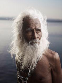 **PORTRAIT OF SHIV JI TIWARI by Joey L. Varanasi, India