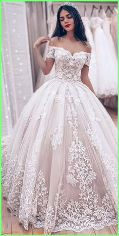 Off the Shoulder Ball Gown Wedding Dress, Fashion Custom Made Bridal Dresses, Pl. - Off the Shoulder Ball Gown Wedding Dress, Fashion Custom Made Bridal Dresses, Plus Size Wedding dress - Popular Wedding Dresses, Princess Wedding Dresses, Long Wedding Dresses, Wedding Dress Styles, Bridal Dresses, Modest Wedding, Elegant Wedding, Backless Wedding, Bridesmaid Dresses
