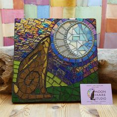 Check out this item in my Etsy shop https://www.etsy.com/uk/listing/492784659/moon-gazing-hare-mosaic