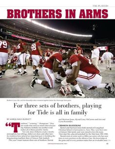 :) most precious thing of my life… alabama football is heartwrenching