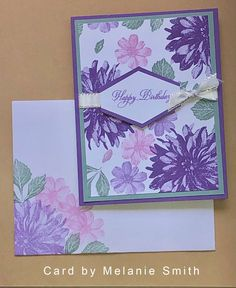 Simple Birthday Cards, Homemade Birthday Cards, Happy Birthday Cards, Homemade Cards, Hand Made Greeting Cards, Making Greeting Cards, Greeting Cards Handmade, Stamping Up Cards, Creative Cards
