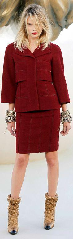Chanel Haute Couture Fall 2010.