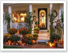 Below are the Fall Porch Decorating Ideas. This article about Fall Porch Decorating Ideas was posted under the Exterior Design … Autumn Decorating, Porch Decorating, Decorating Ideas, Decor Ideas, Fall Outdoor Decorating, Thanksgiving Decorations Outdoor, Decorating Pumpkins, Outdoor Decorations, Fall Home Decor