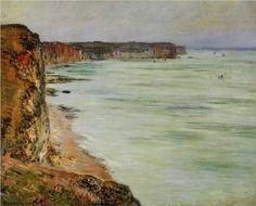 Calm Weather, Fecamp - Claude Monet