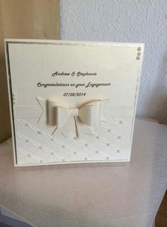 Engagement/wedding card