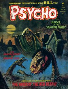 Cover for Psycho (1971 series) #20
