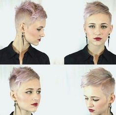Very Short Flattop Haircut for Women Flats, For women