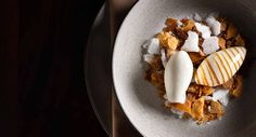 Milk + Honey at The NoMad Restaurant: The 20 Perfect Desserts in New York City Nomad Restaurant, Restaurant New York, Restaurant Recipes, Restaurants In Nyc, Romantic Restaurants, Food Design, New York Essen, Fun Desserts, Delicious Desserts