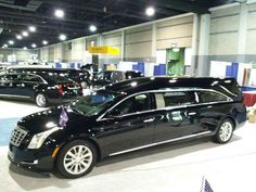 2013 Cadillac XTS hearse by Specialty Vehicle Group