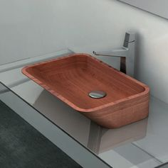 Modern Teak Tubs and Sinks From Plavisdesign of Italy - if it's hip, it's here