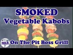 SMOKED Vegetable Kabobs On The Pit Poss Tailgater Pellet Grill Italian Dressing, Smoker Recipes, Smoking Meat, Kabobs, Other Recipes, Tailgating, Grilling, Vegetarian, Vegan