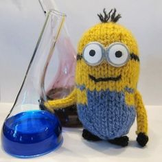 Free minion pattern  knit - from despicable me movie