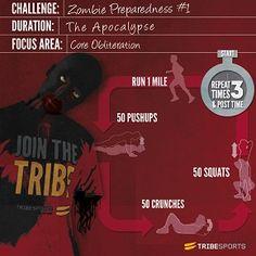 Zombie Preparedness Challenge #1