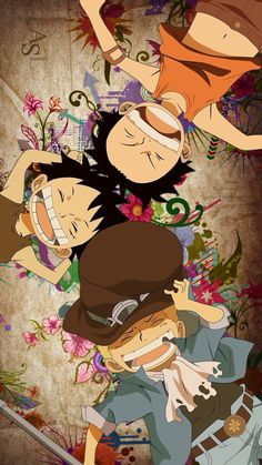 Find images and videos about anime, one piece and ace on We Heart It - the app to get lost in what you love. One Piece ルフィ, One Piece World, One Piece Comic, One Piece Luffy, One Piece Pictures, One Piece Images, Hd Anime Wallpapers, Cute Wallpapers, Anime Boy Sketch