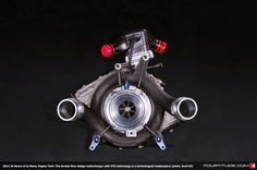 The double-flow design turbocharger with VTG technology is a technological masterpiece