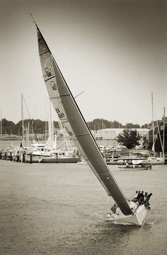 The Farr 40Ramrod wins the Annapolis Yacht Club Wednesday Night Race.