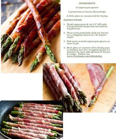 Healthy, low carb/paleo asparagus! Follow me at www.facebook.com/idlifedebby