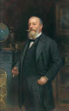"""Zygmunt Ajdukiewicz """"Portret Adolfa Weisenberga"""", 1901, olej na desce, 50 x 30 cm, własność prywatna"""