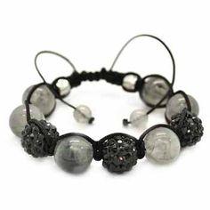 Macrame bead bracelet $5