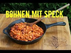 YouTube Baked Beans With Bacon, Bud Spencer, Bbq Bacon, Spice Rub, Kraut, Wok, Grilling, Spices, Low Carb