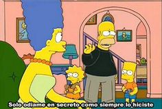 Images and videos of the simpsons Simpsons Frases, Simpsons Quotes, Simpsons Cartoon, Homer Simpson, Lisa Simpson, Spanish Memes, Old Cartoons, Vintage Cartoon, Rugrats