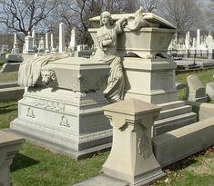 unusual headstones | william-warner-jr-1818-1889-laurel-hill-cemetery-phildelphia ...
