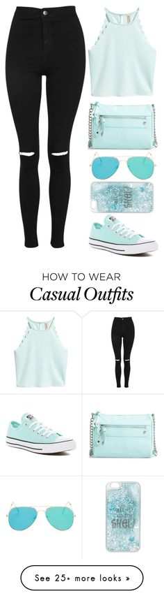 """Summer Casual"" by rev2fashion on Polyvore featuring Topshop, BP., Converse, Charlotte Russe and summerstyle"